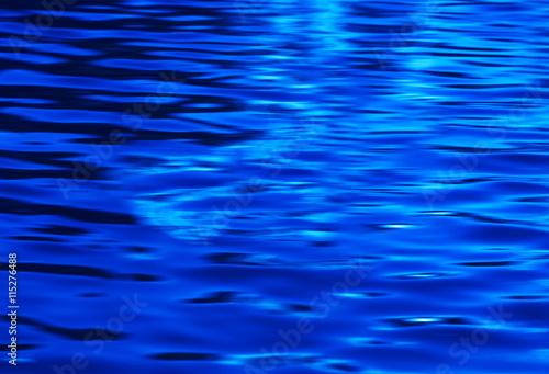 Horizontal blue fresh ocean water digital abstraction background #115276488