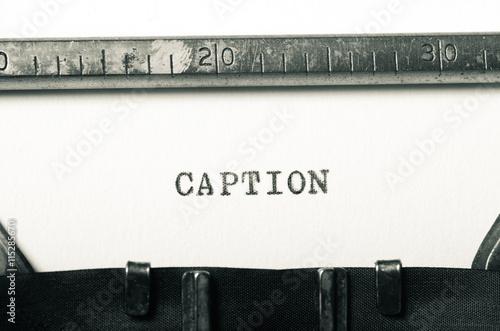 Fototapeta wzór napisu na maszynie do pisania na białym tle