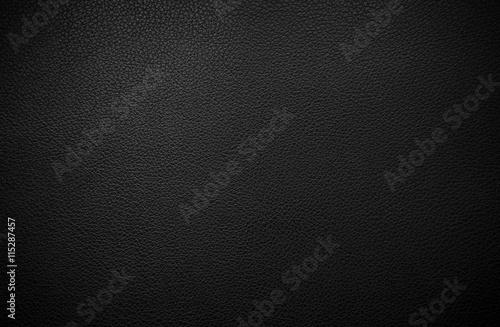 Fotografía  Black leather texture