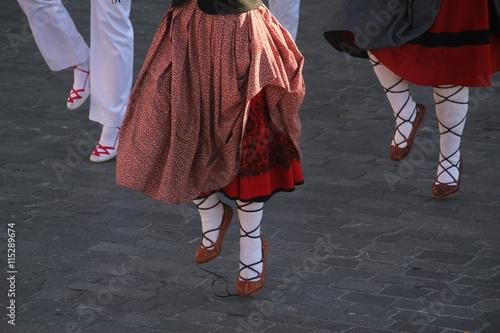 Fototapeten Tanzschule Danzas vascas