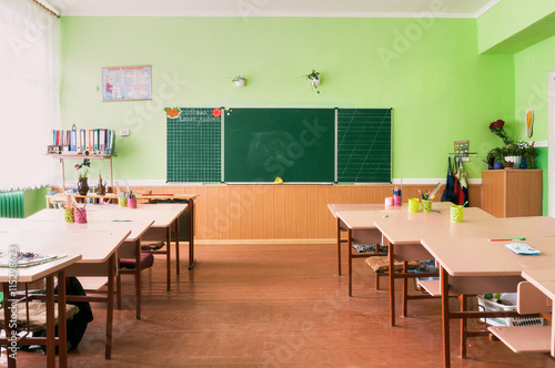 Fotografía  The class of kindergarten for children's education