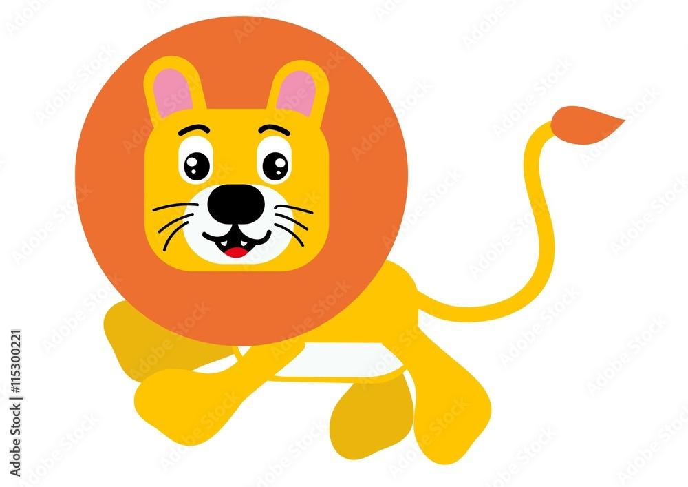 Fototapety, obrazy: lew,lwica