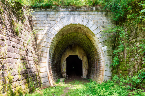 Portal on old tunnel
