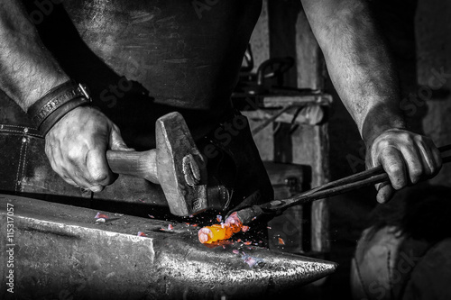 Carta da parati blacksmith