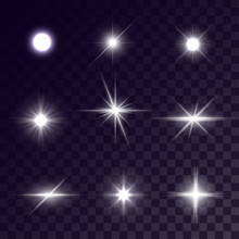 Vector Star Lighting Effects