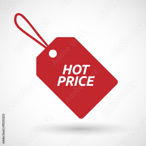 isolated product label icon with the text  price - buy this stock ...