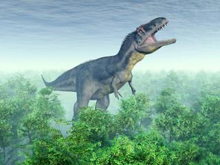 Fototapeta Dinosaur Tyrannotitan