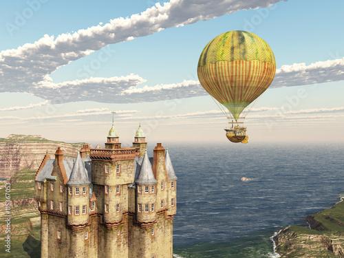 szkocki-zamek-i-fantasy-balonem