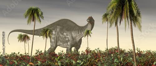 Dinosaur Apatosaurus - 115375459