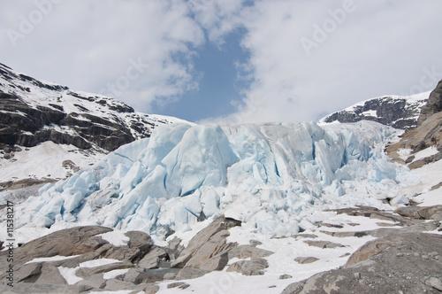Printed kitchen splashbacks Glaciers Nigardsbreen glacier, Norway / Nigardsbreen is a glacier arm of the large Jostedalsbreen glacier.