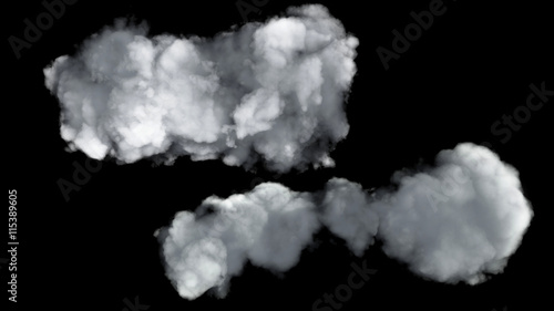 Cadres-photo bureau Ciel two clouds texture render