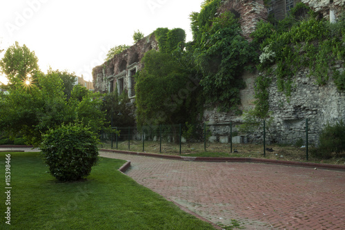 Fotobehang Midden Oosten The ruins of Boukoleon Palace in Istanbul, Turkey