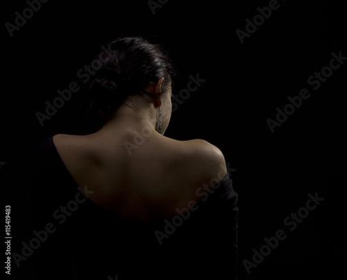 woman longing alone Tapéta, Fotótapéta