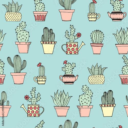 kolorowy-wzor-z-ladny-kaktus-w-stylu-wyciagnac-reke-wzor-kreskowka-kaktusy-doniczkowe-dekoracyjne-rosliny-doniczkowe-ilustracji