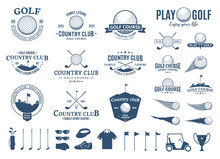 Golf Club Logo, Labels, Icons ...