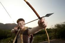 Robin Hood. Archer With Arrow ...