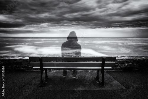 Fotografie, Obraz Un fantôme...