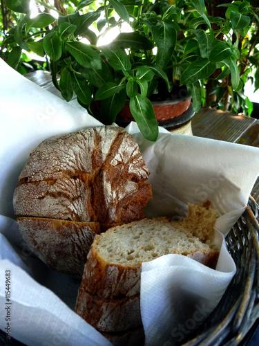 fototapeta na szkło Sliced bread