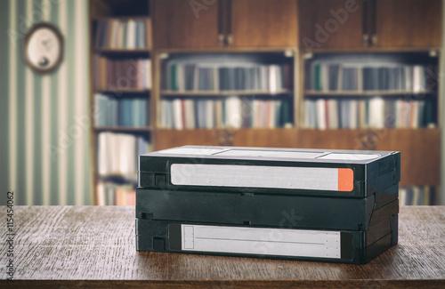 Fotografija  VHS videotapes