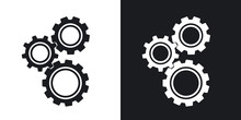 Gears Or Settings Icon, Stock ...