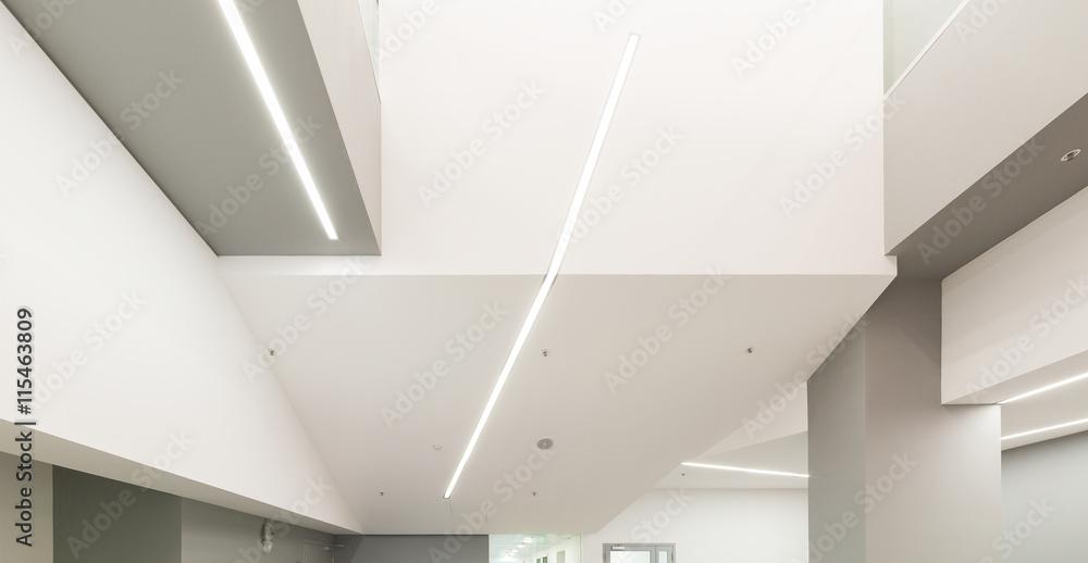 Fototapety, obrazy: Modern office ceiling