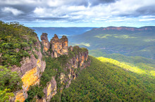Three Sisters In Blue Mountain...