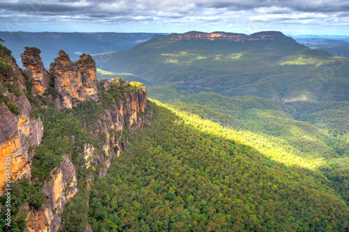 Deurstickers Australië Three sisters in Blue mountains, Australia