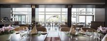 Modern Restaurant Interior, Pa...