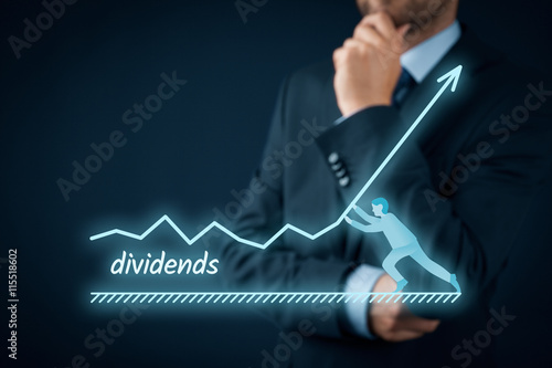 Fotografía  Dividends increase