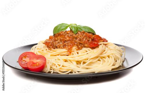 Fotografie, Obraz  Tradiční špagety bolognese