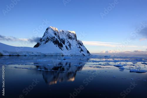 Photo Stands Antarctic Lemaire Kanal Antarktis