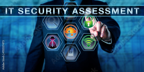 Corporate Auditor Pushing IT Security Assessment