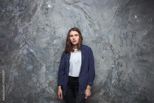 Stunning brunette teen — img 3