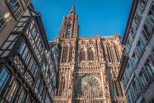Strasbourg Cathedral In France