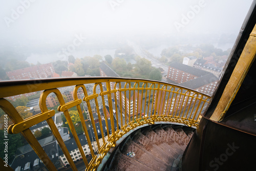 Photo  Stairs on the tower of the Church of Our Saviour, in Christiansh