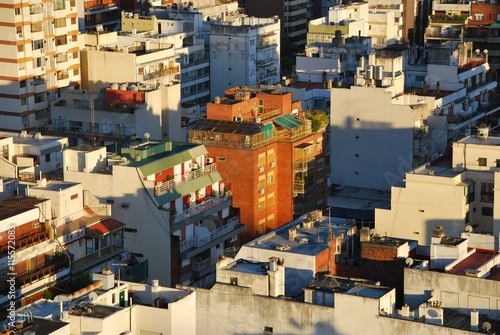 Spoed Foto op Canvas Buenos Aires early morning light on Buenos Aires highrises