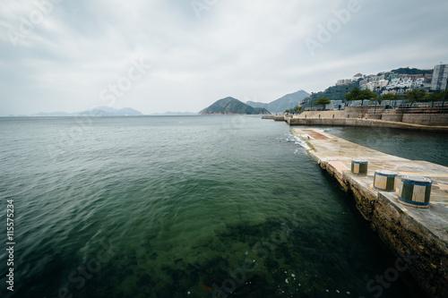 Photo  Pier at Repulse Bay, in Hong Kong, Hong Kong.