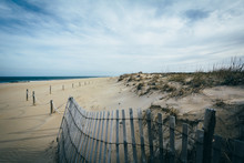 Fence And Sand Dunes At Cape H...