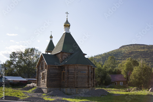 Fotografie, Tablou  Kirche in Esso - Kamtschatka - Sibirien - Russland