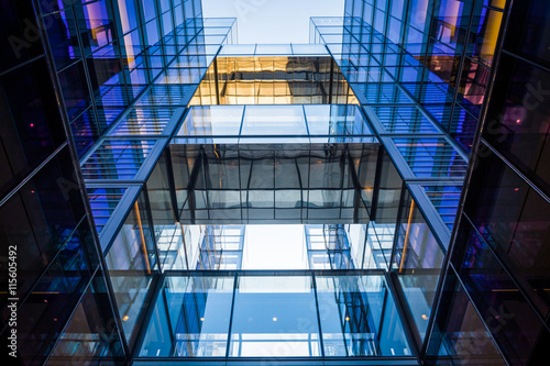 Fotografie, Obraz  Modern building on 10th Street in Washington, DC.