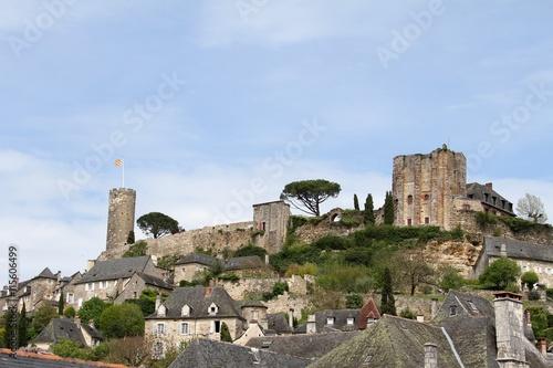Turenne,village classé plus beau village de France en corrèze Poster