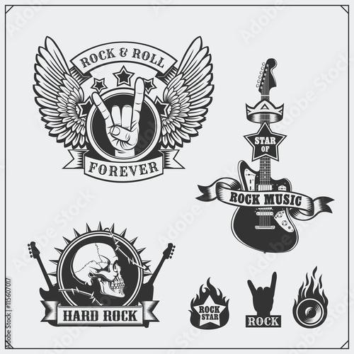 Rock N Roll Symbole