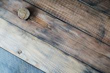 Grunge Wooden Background With A Cork.