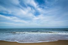 Waves In The Atlantic Ocean At...