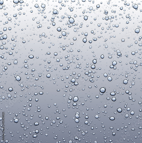 Naklejka na szybę Background with bubbles.