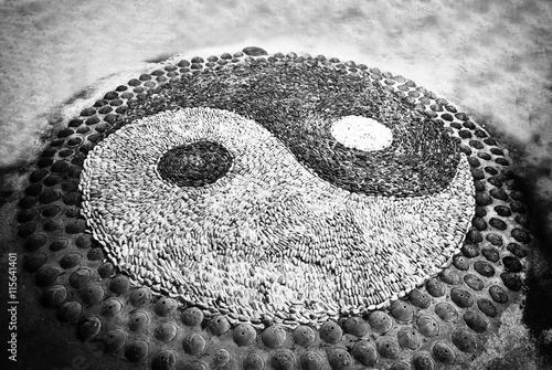 Zdjęcie XXL Symbol Yin Yang