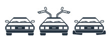 Future Car Front Icons