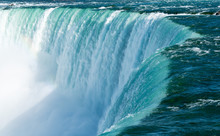 Canadian Horseshoe Falls At Ni...