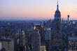 ニューヨーク マンハッタン 俯瞰 エンパイアステートビル