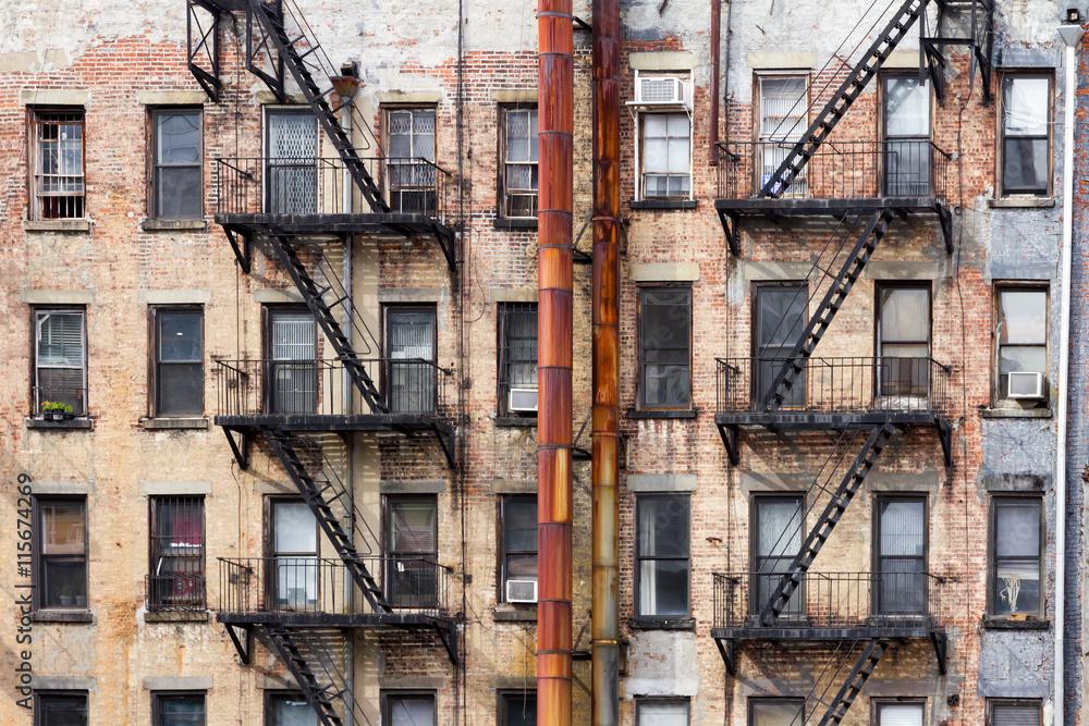 Fototapety, obrazy: Buildings Near NYU in Manhattan, New York City